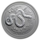 2013 Australia 1/2 oz Silver Year of the Snake BU (Series II)