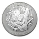 2013 Australia 1 kilo Silver Koala BU