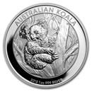 2013 Australia 1 oz Silver Koala BU
