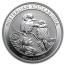 2013 Australia 1 oz Silver Kookaburra BU (Snake Privy)