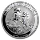 2013 Australia 1 oz Silver Kookaburra BU