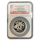 2013 Australia 1 oz Silver Year of the Snake PF-70 UCAM NGC(HR)