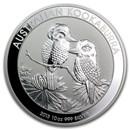 2013 Australia 10 oz Silver Kookaburra BU