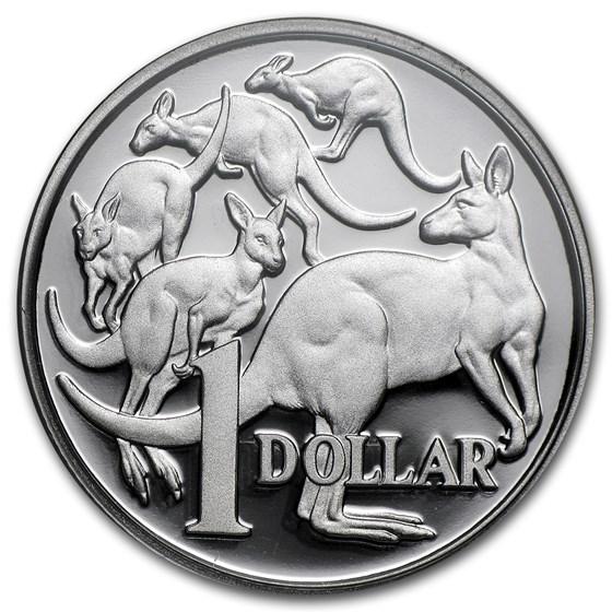 2013 Australia Silver $1 Kangaroo Proof