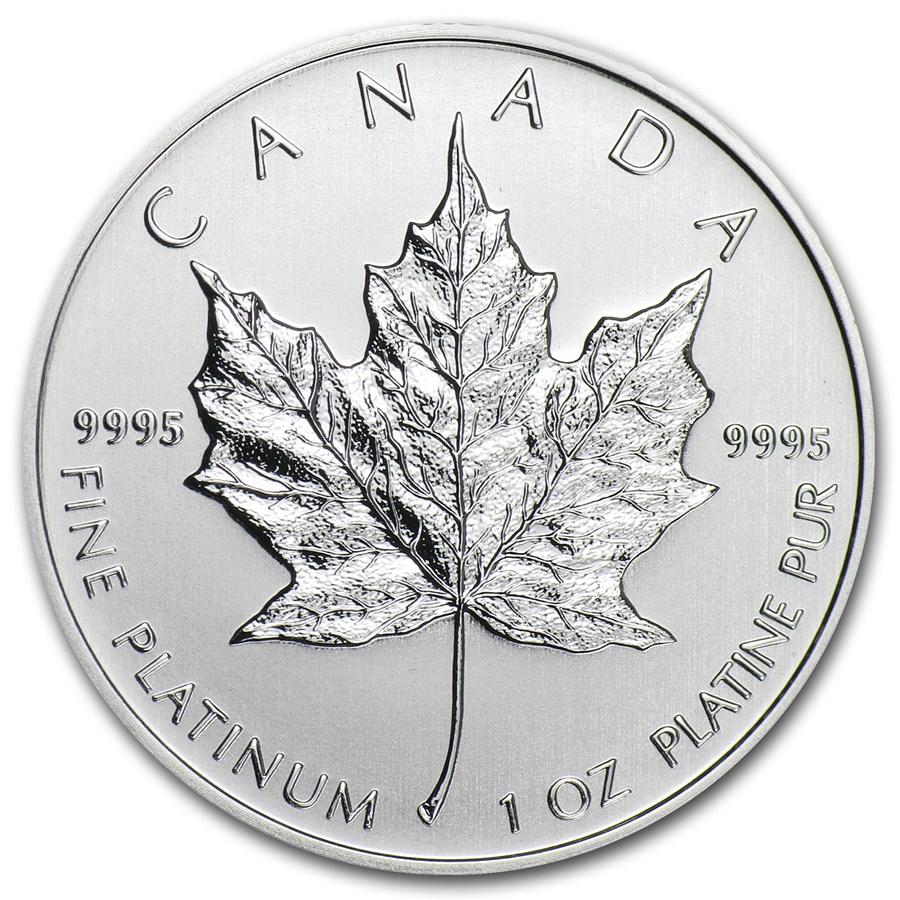 2013 Canada 1 oz Platinum Maple Leaf BU
