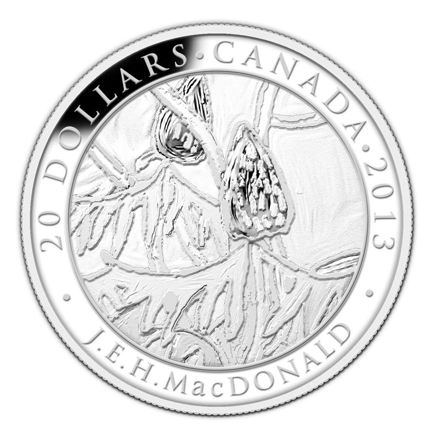 2013 Canada 1 oz Silver $20 Group of Seven (J.E.H. MacDonald)