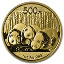 2013 China 1 oz Gold Panda BU (Sealed)