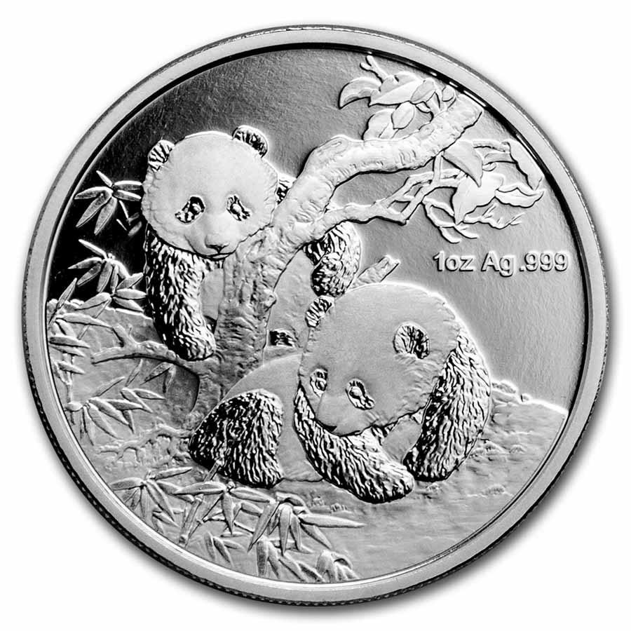 2013 China 1 oz Silver Panda Proof (Berlin WMF, w/Box & CoA)