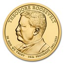 2013-D Theodore Roosevelt Presidential Dollar BU