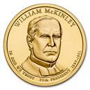 2013-D William McKinley Presidential Dollar BU