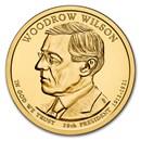 2013-D Woodrow Wilson Presidential Dollar BU