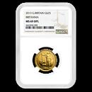 2013 Great Britain 1/4 oz Gold Britannia Coin MS-69 NGC (DPL)