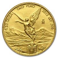 2013 Mexico 1/20 oz Gold Libertad BU