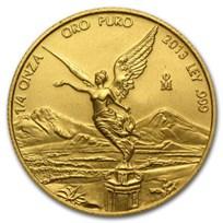 2013 Mexico 1/4 oz Gold Libertad BU