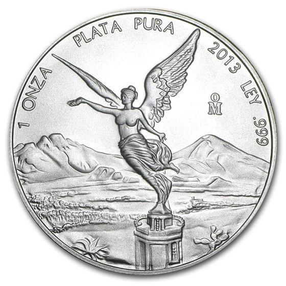 2013 Mexico 1 oz Silver Libertad BU