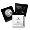 2013-P 5 oz Silver ATB Mt. Rushmore (w/Box & COA)