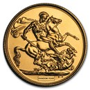 2013-Present Great Britain Gold Sovereign BU (Random Year)