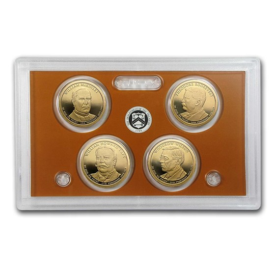 2013-S Presidential Dollar Proof Set (No Box/COA)