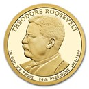 2013-S Theodore Roosevelt Presidential Dollar Proof
