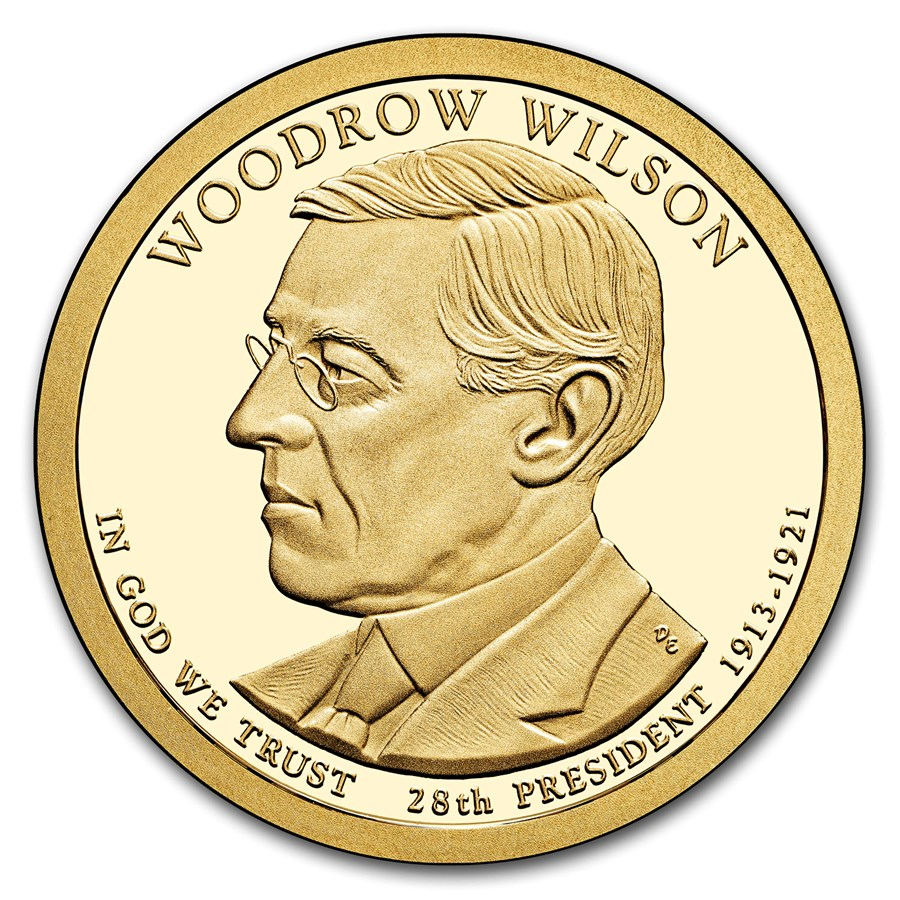 2013-S Woodrow Wilson Presidential Dollar Proof