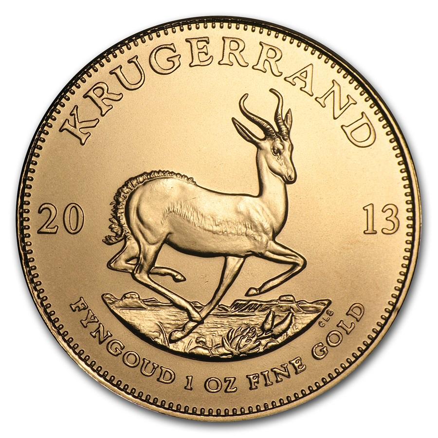 2013 South Africa 1 oz Gold Krugerrand