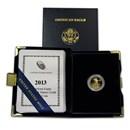 2013-W 1/10 oz Proof Gold American Eagle (w/Box & COA)