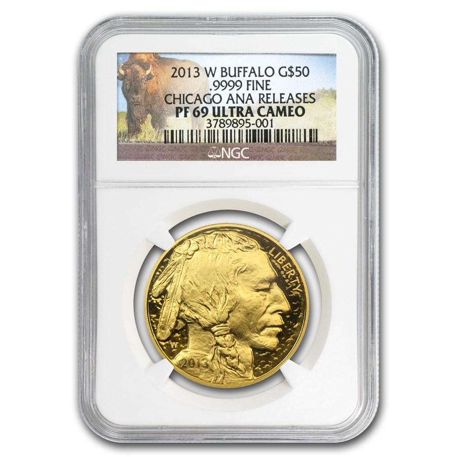 2013-W 1 oz Proof Gold Buffalo PF-69 NGC (ANA Releases)