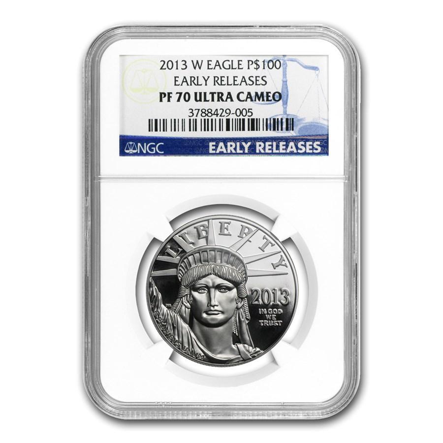 2013-W 1 oz Proof Platinum American Eagle PF-70 NGC (ER)