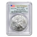 2013 (W) American Silver Eagle MS-70 PCGS (FirstStrike®)