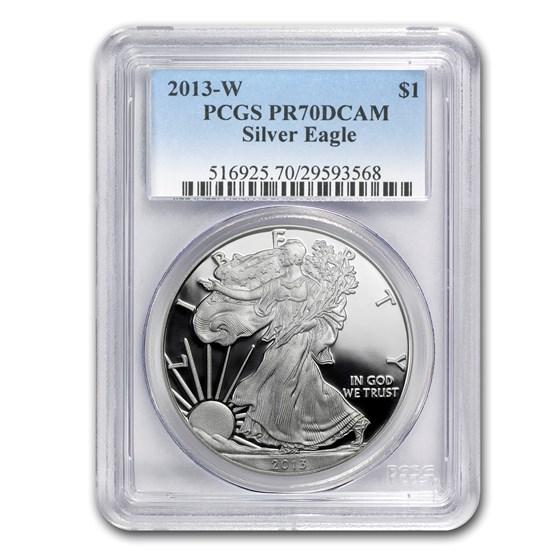 2013-W Proof American Silver Eagle PR-70 PCGS