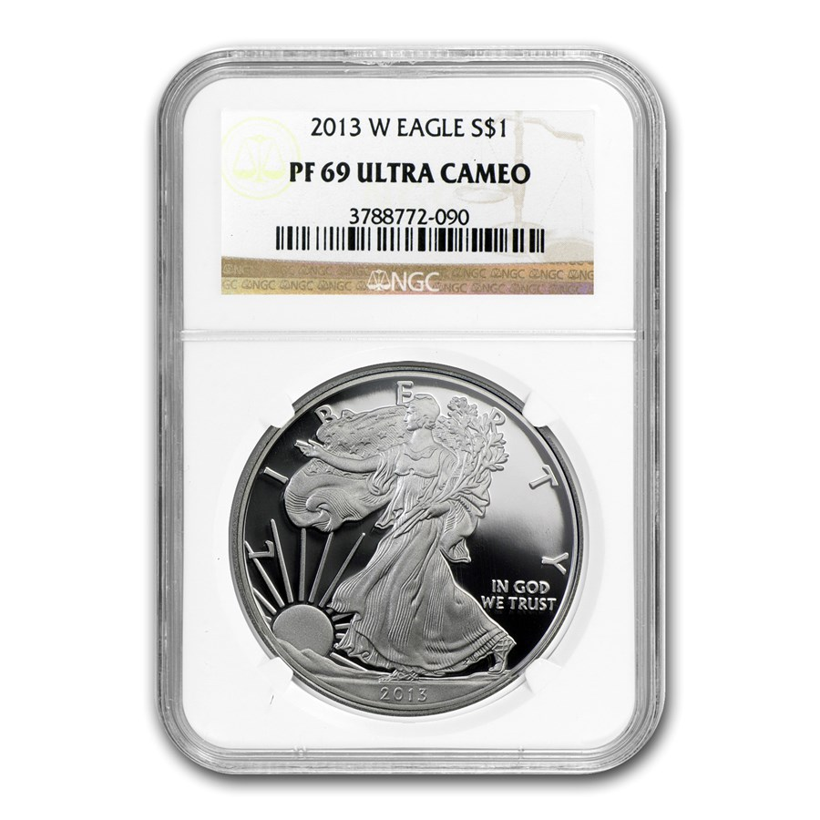 2013-W Proof Silver American Eagle PF-69 NGC