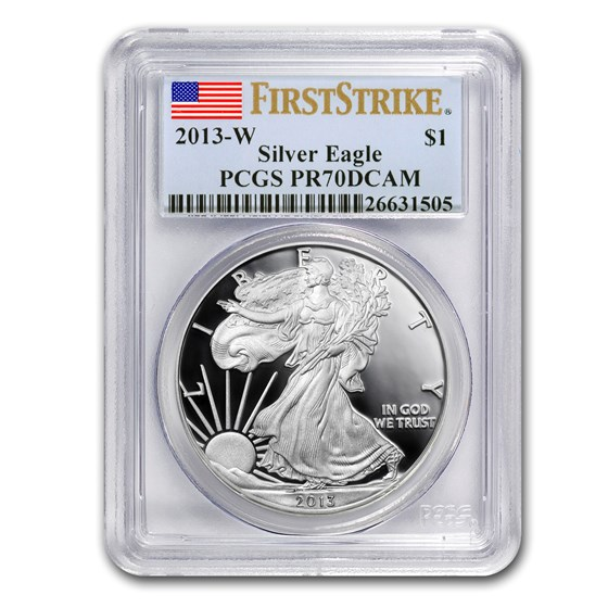 2013-W Proof Silver American Eagle PR-70 PCGS (FirstStrike®)