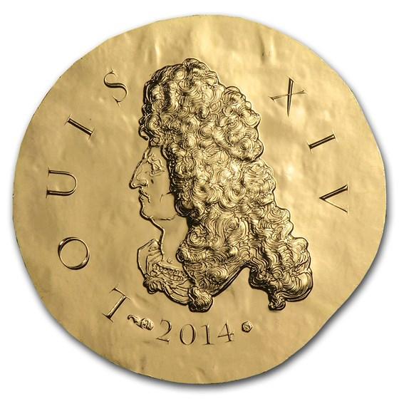 2014 1/4 oz Proof Gold €50 Legendary Collection Louis XIV