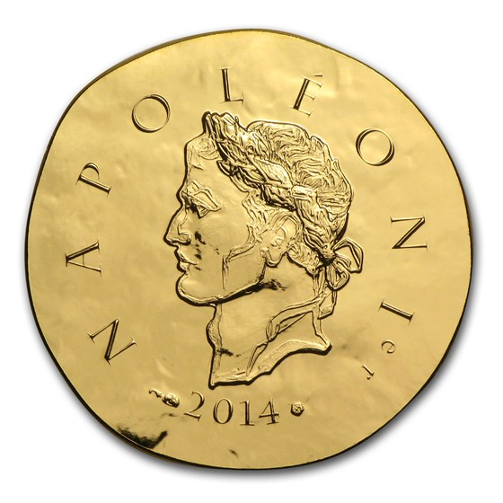 2014 1/4 oz Proof Gold €50 Legendary Collection (Napoleon I)