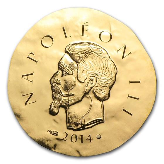 2014 1/4 oz Proof Gold €50 Legendary Collection Napoleon III
