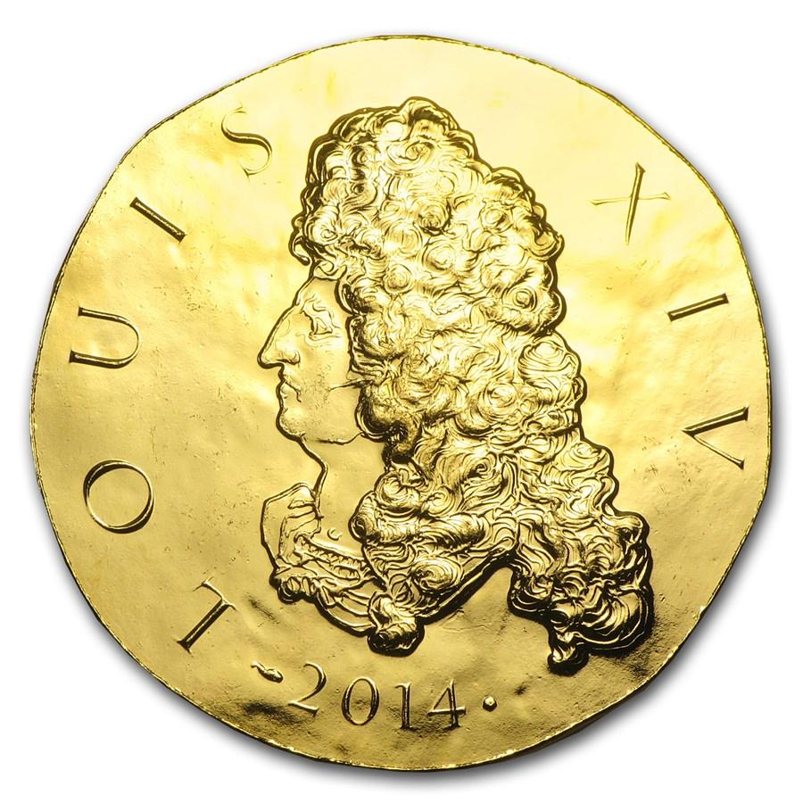 2014 1 oz Proof Gold Legendary Collection Louis XIV
