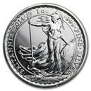 2014 1 oz Silver Britannia Year of the Horse Privy (Abrasions)