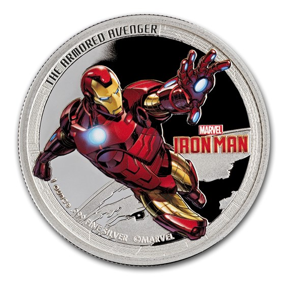 2014 1 oz Silver Niue Avenger Iron Man