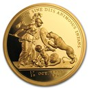 2014 (1776) France Gold Libertas Americana (Medal Only)