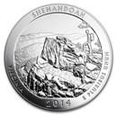 2014 5 oz Silver ATB Shenandoah National Park, VA
