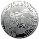 2014 Armenia 1 kilo Silver 10000 Drams Noah's Ark