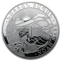 2014 Armenia 1 oz Silver 500 Drams Noah's Ark BU