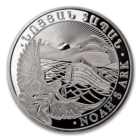2014 Armenia 5 kilo Silver 20000 Drams Noah's Ark