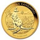 2014 Australia 1 oz Gold Kangaroo BU