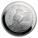 2014 Australia 10 oz Silver Kookaburra BU