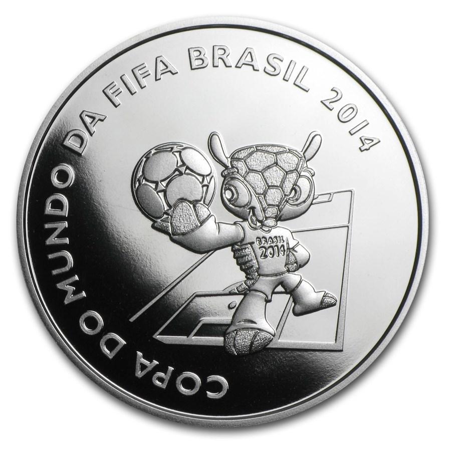 2014 Brazil Silver FIFA World Cup Brazil™ Mascot Proof