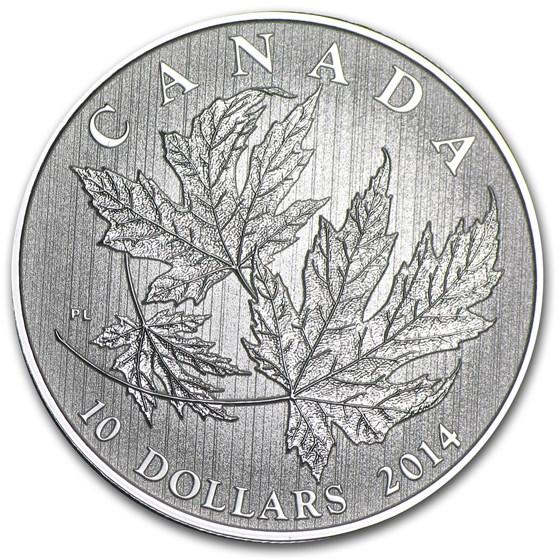 2014 Canada 1/2 oz Silver $10 Maple Leaf