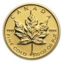 2014 Canada 1/20 oz Gold Maple Leaf BU
