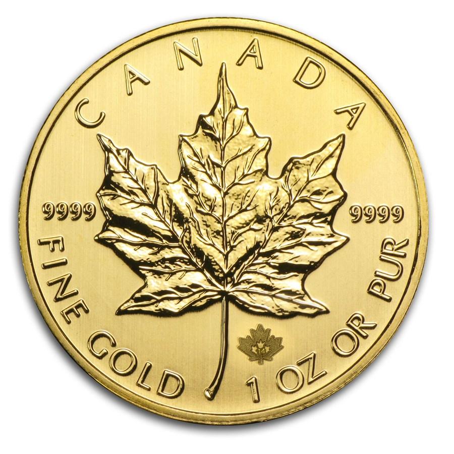 2014 Canada 1 oz Gold Maple Leaf BU