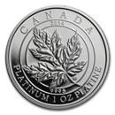 2014 Canada 1 oz Proof Platinum $300 Maple Leaf Forever